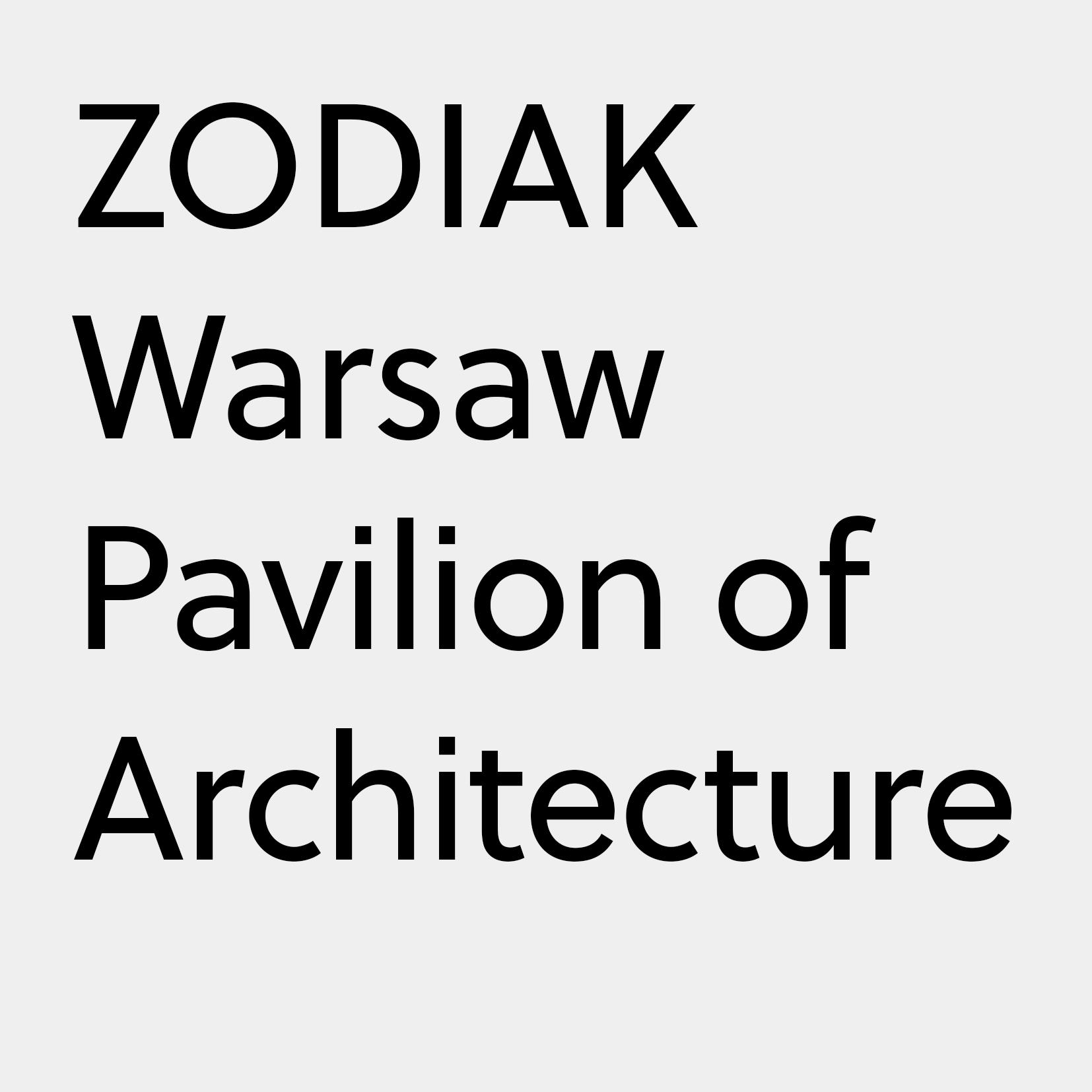 logotyp tekstowy zodiaku